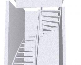 Деревянные лестницы №55
