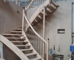 Деревянные лестницы №56