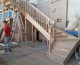 Деревянные лестницы №59
