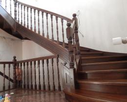 Деревянные лестницы №60