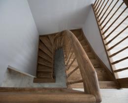 Деревянные лестницы №62
