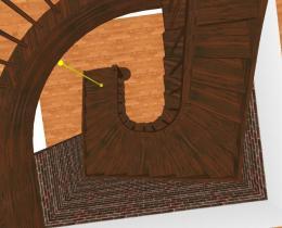 Деревянные лестницы №63