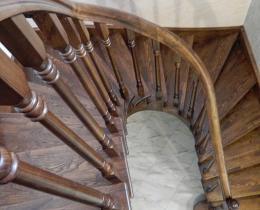 Деревянные лестницы №65