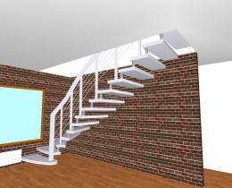 Деревянные лестницы №68