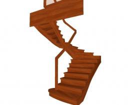 Деревянные лестницы №70