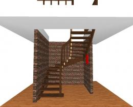 Деревянные лестницы №72