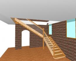 Деревянные лестницы №74