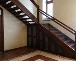 Деревянные лестницы №75