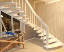 Деревянные лестницы №77