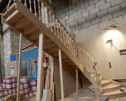 Деревянные лестницы №79