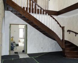 Деревянные лестницы №83