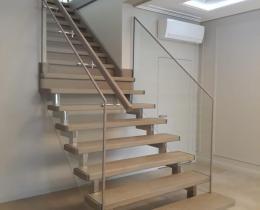 Деревянные лестницы №86