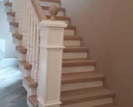 Деревянные лестницы №90
