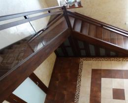 Деревянные лестницы №96