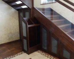 Деревянные лестницы №98