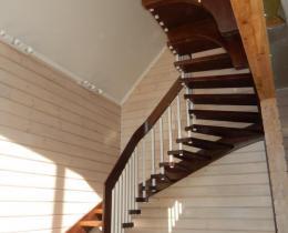 Деревянные лестницы №102