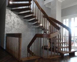 Деревянные лестницы №106