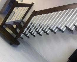 Деревянные лестницы №107