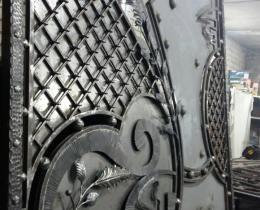 Кованые ворота в Воронеже №14