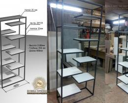 Кованые этажерки, стеллажи, консоли №120
