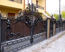 Кованые ворота в Воронеже №85