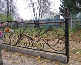 Кованые ритуальные изделия в Воронеже №98
