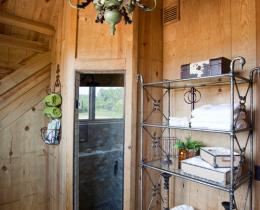 Кованые этажерки, стеллажи, консоли №108