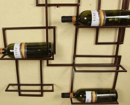 Кованые винницы, подставки под вино №38