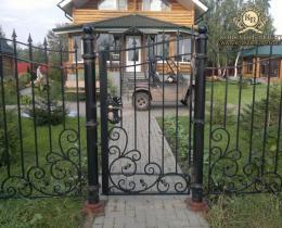 Кованые калитки в Воронеже №8