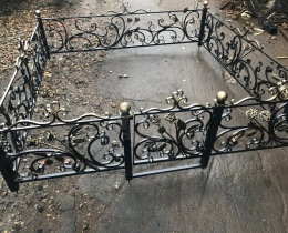 Кованые ограды в Воронеже №140
