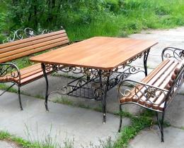 Кованые столы в Воронеже №110