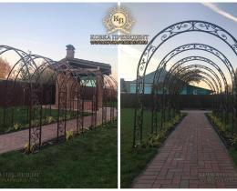 Кованые арки в Воронеже №3