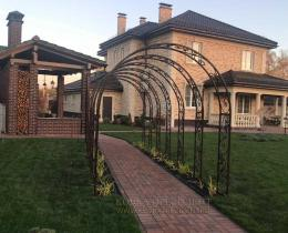 Кованые арки в Воронеже №4