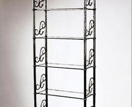 Кованые этажерки, стеллажи, консоли №34