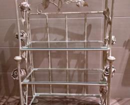 Кованые этажерки, стеллажи, консоли №35