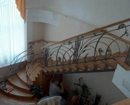 Кованые лестницы в Воронеже №10