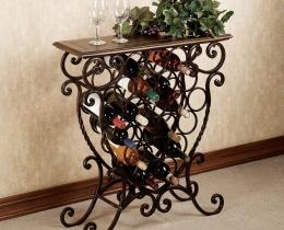 Кованые винницы, подставки под вино №45