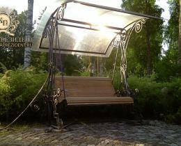 Кованые скамейки в Воронеже №22