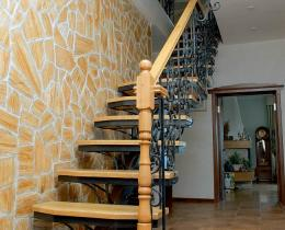 Кованые лестницы в Воронеже №7