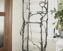 Кованые этажерки, стеллажи, консоли №66