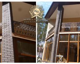 Кованые балконы №146