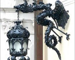 Кованые фонари в Воронеже №35