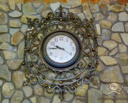 Кованые часы в Воронеже №8