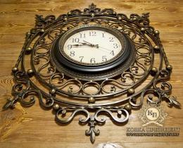 Кованые часы в Воронеже №10