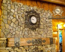 Кованые часы в Воронеже №11