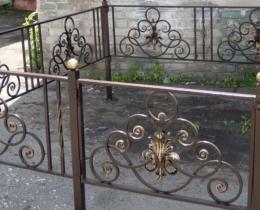 Кованые ограды в Воронеже №59