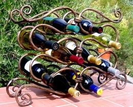 Кованые винницы, подставки под вино №51
