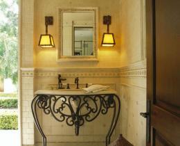 Кованые этажерки, стеллажи, консоли №110
