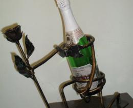 Кованые винницы, подставки под вино №55