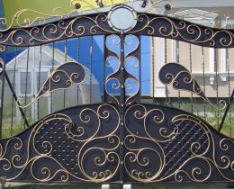 Кованые ворота в Воронеже №217